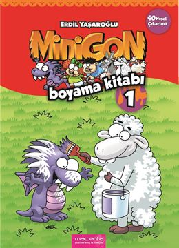 Resim  MINIGON COLORING BOOK 1